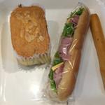パーノトリア - 料理写真:サンドイッチうまーい