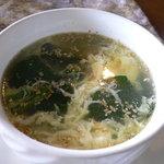 雪月花廊 - セットメニューのスープ