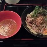 御○屋 - 野菜たっぷりつけ麺  850円