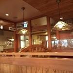 コメダ珈琲店 - 喫煙室はしっかり区切られていてgood