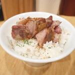Japanese Soba Noodles 蔦 - 肉飯(250円)