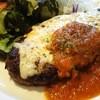 じゃんけんぽん - 料理写真:びらとり和牛バーグ&びらとりトマトソースのびらとりバーグ