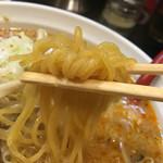 らーめん北熊 - 麺箸あげ