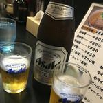 らーめん北熊 - 瓶ビール