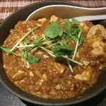 焼酎バルBar多幸 - お肉いっぱい麻婆豆腐