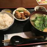 力士料理 富風 - ちゃんから定食(750円)