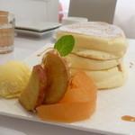 fleur - 季節限定 アップルシナモン パンケーキ