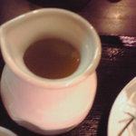 4528984 - 二色麺のつけ汁追加
