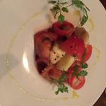 45280602 - 前菜。トマトとラフランスの冷製