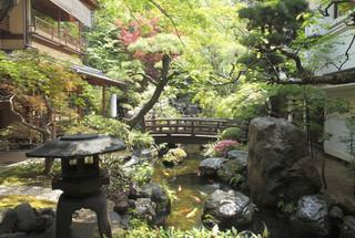 東京 芝 とうふ屋うかい - 庭