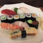 寿司華 - 並にぎりランチ(1000円)