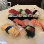 寿司華 - 並にぎりランチ(1500円)