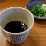 蕎麦工房 膳 - そばつゆ