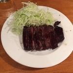 桜丘肉バル GOTTSU - 牛ハラミステーキアップ