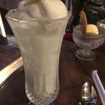 マリベル 京都本店 - ホワイトチョコのスムージーですよーバナナミックス♪♪