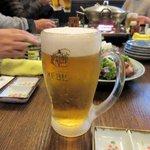 歌流多 - 生ビール2015.12.07