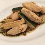 キヴィシルト - 牡蠣とズッキーニ