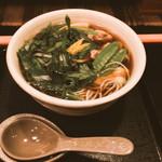 信濃名産延壽蕎麦 小川屋 - 料理写真:鶏なんばんそば