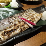 海の家火ばち家 - 太刀魚一夜干し・・めっちゃ美味しい