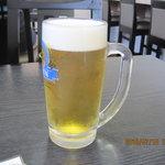 中国料理 桃花園 - 生ビール