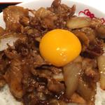 紅宝石 - 肉飯アップ2