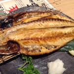 生け簀の甲羅 - 特大トロ鯖の単品だよ〜メッチャ大きい‼︎脂ものってたよ〜