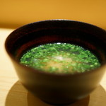 鮨 さいとう - 2015.12 蜆の味噌汁