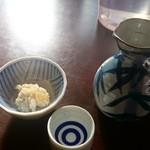みのり食堂 - 2015/11/28 12:10訪問 熱燗
