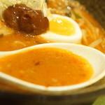まる八らーめん - スープ