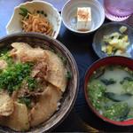 郷土料理・黒豚しゃぶ鍋・ぞうすい 八幡 - 黒豚八幡丼☆