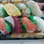 歌津鮮魚店 - にぎり