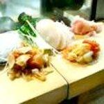 初芳鮨 - 貝の盛り合わせ