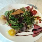 45300380 - 【ベビーリーフのサラダ】素晴らしいビジュアル、味も美味しいです!