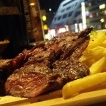 45302037 - 牛ハラミ肉のグリル