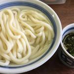 長田うどん - 撮る前に少し食べてしまいました…f^_^;)