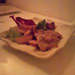 カーヴ 隠れや - 地鶏のロースト 2色ソース