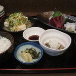 米蔵 - ランチ(刺身定食)