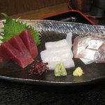 米蔵 - 刺身 アップ