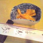 清泉 - お通しメンマ