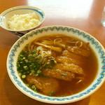 ドライブイン旭川 - 料理写真:トンカツ入りとごはん