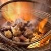 宮崎 小林養鶏 直営店 しちりん焼肉 わさび - 料理写真:『鶏のざる焼き』わさび名物