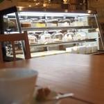 銀座みもざ館カフェ - 美味しそうなケーキがいっぱい。
