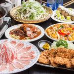 とんかつ・豚肉料理 こぶたや - 味とボリュームが自慢の宴会コースは個室でゆっくりとお楽しみ下さい。