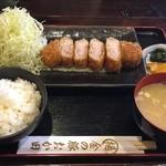 45328790 - バラトロとんかつ定食 (140g)