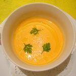 トラットリアピッティ - 野菜の冷製ポタージュ