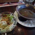 45331093 - ランチスープ&サラダ