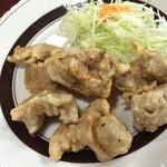 なかとら食堂 - 肉の天ぷら360円