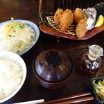 とんかつ浜勝 - 料理写真:カキフライ御膳
