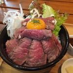 AB-Z - ローストビーフ丼・大盛り 税別¥880
