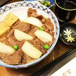 浅草今半 - 今半って感じの牛丼(・∀・)